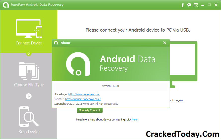 FonePaw Data Recovery 5.4.0 Crack With Serial Key Free Download