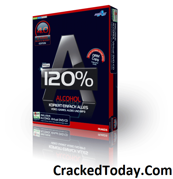 Alcohol 120% 2.03.9902 Crack Plus Serial Key Free Download